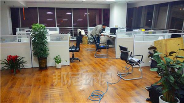 半岛大厦19层纺织公司空气治理